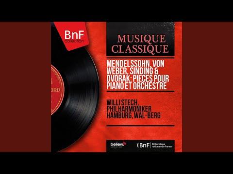 8 Humoresques, Op. 101, B. 187: No. 7, Poco lento e grazioso (Arranged for Piano and Orchestra...