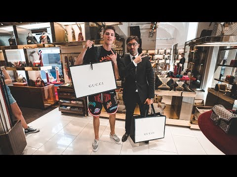 My Insane $5000 Gucci Shopping Spree in Rome!