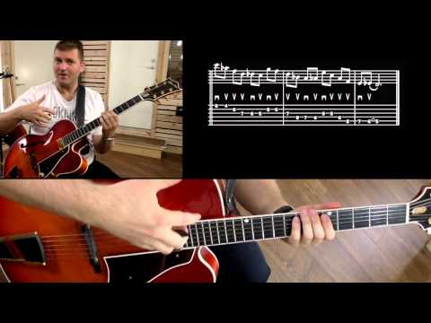 HOW TO IMPROVISE ON ALTERED CHORDS - JAZZ GUITAR LESSON