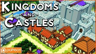 Kingdoms and Castles - Patron Game of the Week! (AWESOME CITY BUILDER)