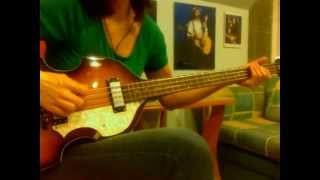 """Goodnight Tonight"" (Paul McCartney)  bass by Maggie"