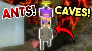 NEW CAVE AND ANTS! | ROBLOX: Booga Booga