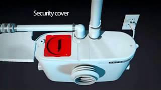 видео Выбираем фекальный насос с измельчителем для туалета или выгребных ям: бытовые или промышленные