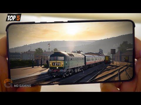 🔥TOP5🔥REALISTIC TRAIN SIMULATOR ANDROID GAMES 2020 | Free Offline Simulator Games |