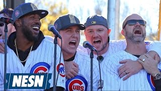 Cubs Players Sing 'Go Cubs Go' On SNL, Will Appear On More National TV This Week