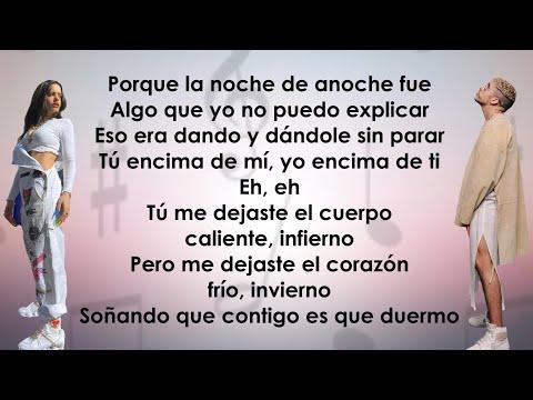 Bad Bunny, Rosalía – La Noche de Anoche (Letra/Lyrics)