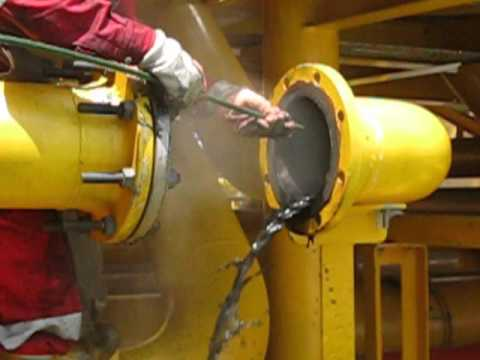 VGCE's Internal cleaning for gas pipeline offshore