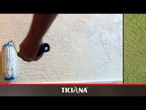 =Фактурная краска Ticiana (2 вариант нанесения)