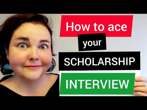 How to ace a scholarship interview | Tips for Hungarian scholarship applicants 🔥 FREE CHECKLIST