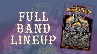 Sturgis Concerts at the Buffalo Chip