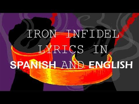 Iron infidel lyrics in english and spanish