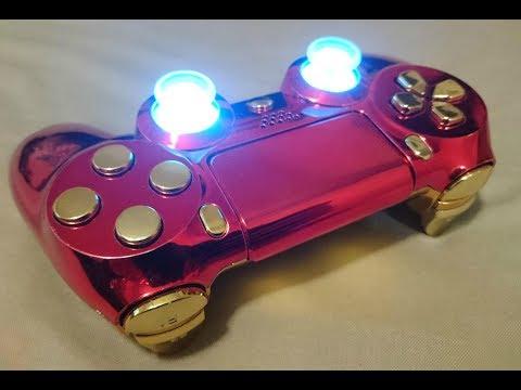 Build the Ultimate Iron Man PS4 Controller DIY - Avengers Endgame