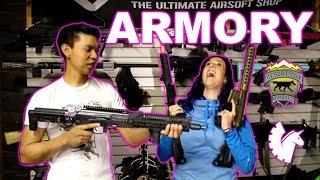 Jet DesertFox & Unicorn Leah's Airsoft Gun Collection (Part 1)