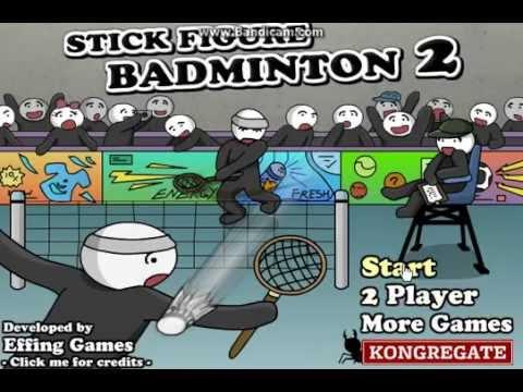 #1 Обзор игры Стикмен Бадминтон 2