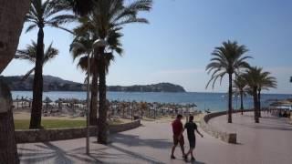 Walk around Santa Ponsa, Mallorca 2016