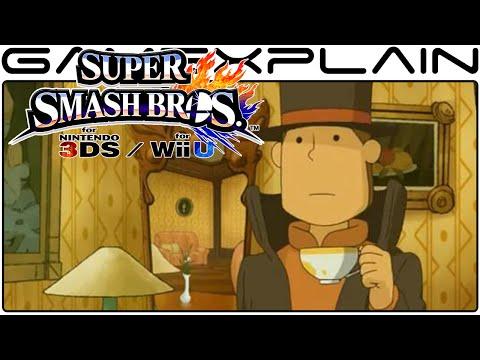 Professor Layton in Smash Bros - Final Update