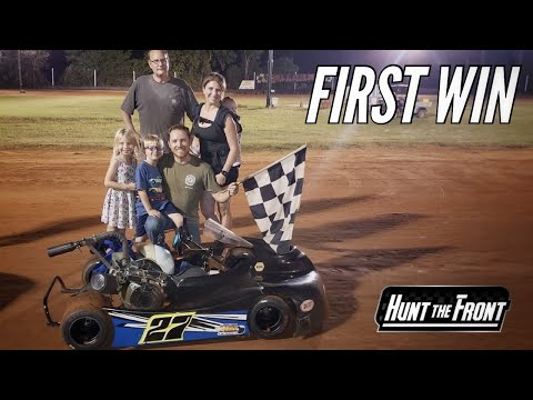 Our Go Kart Racer Won His First Race At Callahan Speedway