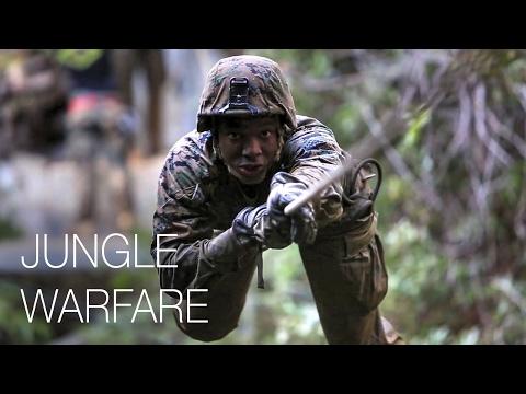 Infantry Marines – Jungle Endurance Course