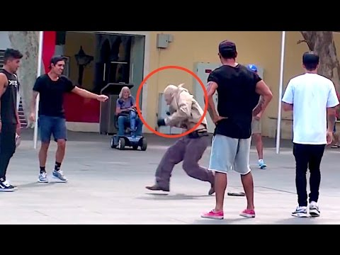 Old Man Dances In Public Prank! thumbnail