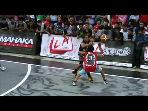 LA Lights Streetball 2012 - Top 10 Plays Medan Open Run 2012