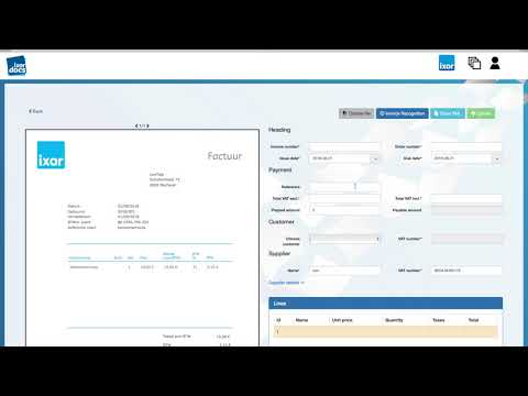 Recognition of Named Entities on Invoices for IxorDocs