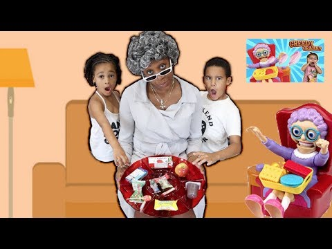 Greedy Granny in Real Life! Kids Pretend Play | FamousTubeKIDS