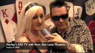 Lana Phoenix likes to get choked and spit on! Harleys XXX TV! Thumbnail