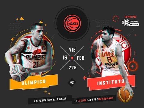 Liga Nacional: Olímpico vs. Instituto | #LaLigaEnTyCSports
