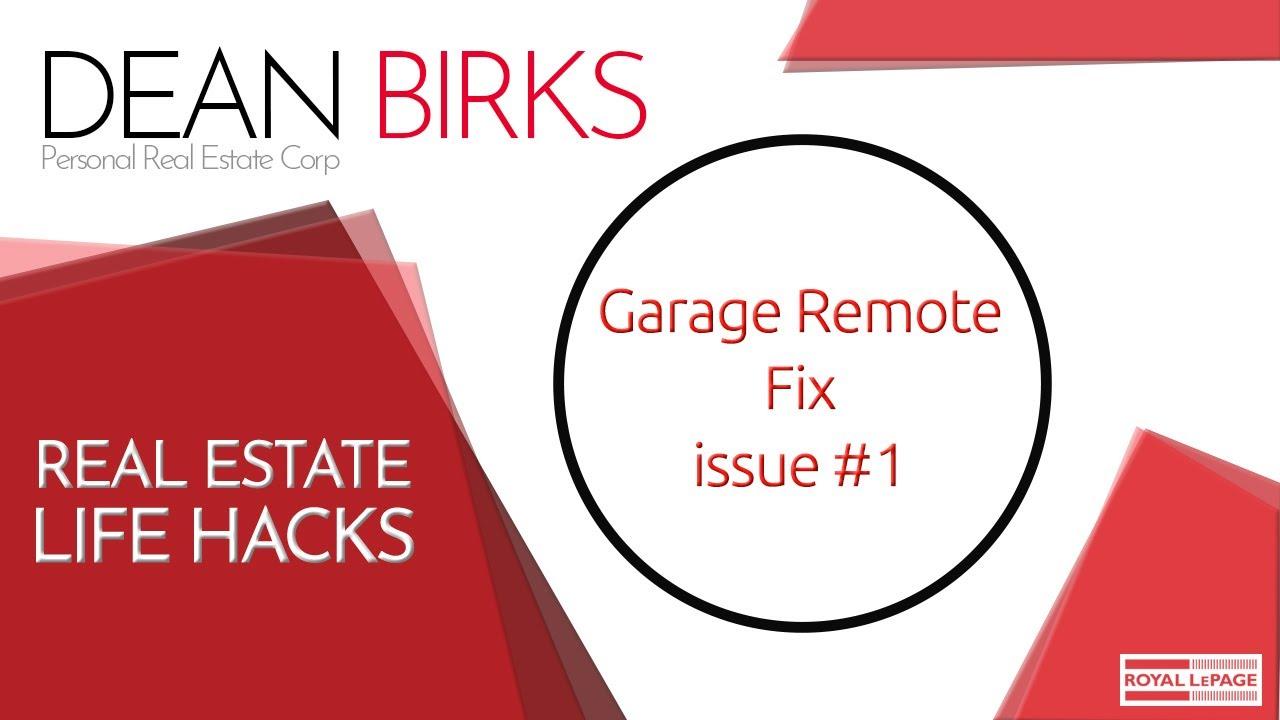 Solution to garage door remotes not working youtube solution to garage door remotes not working rubansaba
