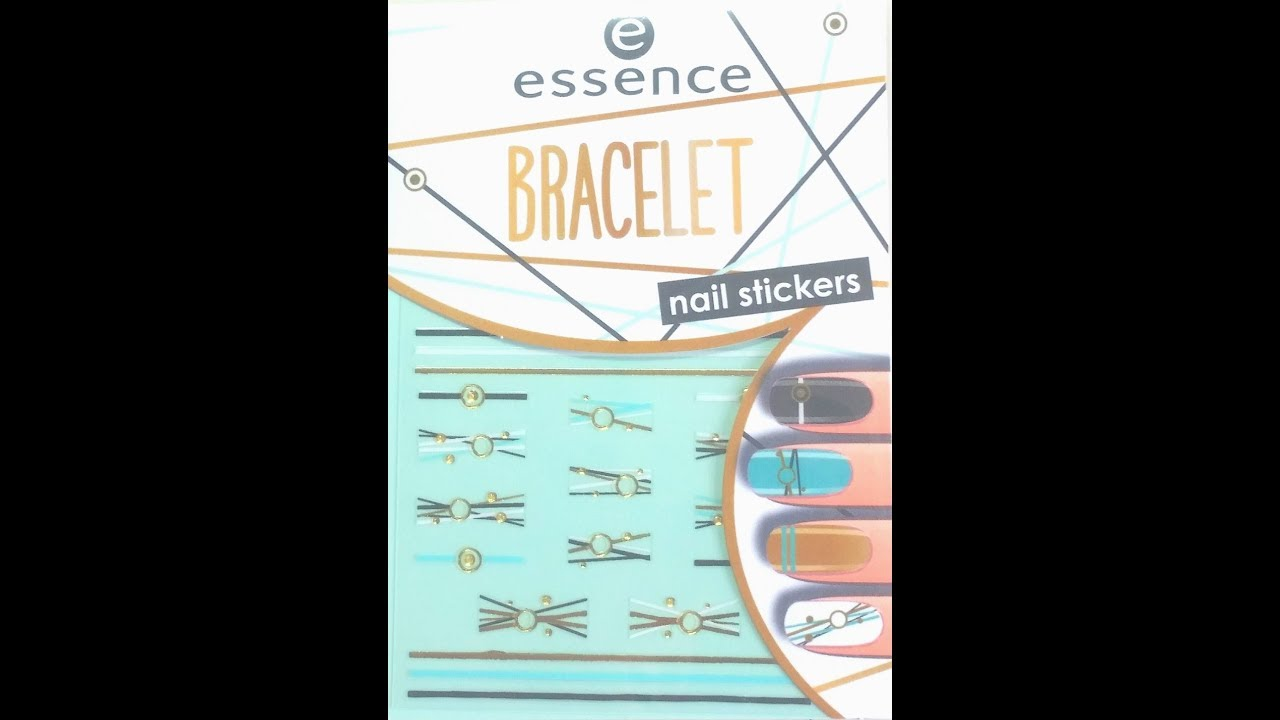 Essence Bracelet Nail Stickers Product Review