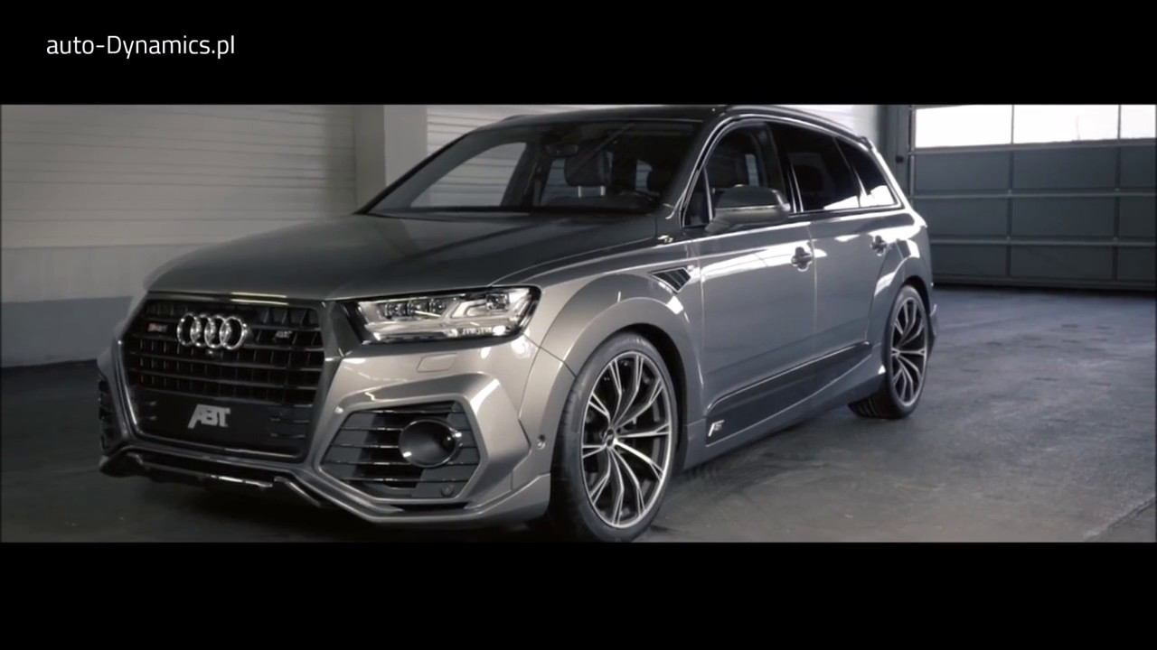 audi sq7 4m tuning program pakiet modyfikacji abt. Black Bedroom Furniture Sets. Home Design Ideas