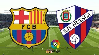 ... barcelona look to stay unbeaten at home as they face sd huesca! live from la liga!! don't forge...