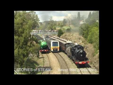 """""""Parallel Parades"""" - Steam Locomotives Running Parallel"""