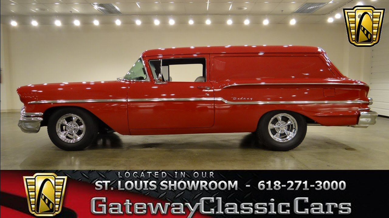 1958 Chevrolet Sedan Delivery - Gateway Classic Cars St  Louis - #6217