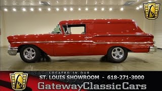 1958 Chevrolet Sedan Delivery - Gateway Classic Cars St. Louis - #6217