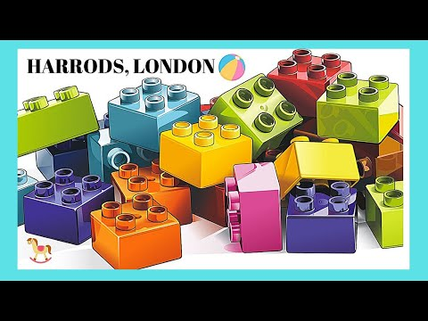 london the very busy and chaotic toy stores at harrods youtube. Black Bedroom Furniture Sets. Home Design Ideas