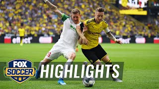 Watch highlights between borussia dortmund and fc augsburg.#foxsoccer #bundesliga #dortmund #augsburgsubscribe to get the latest fox soccer content: http://f...