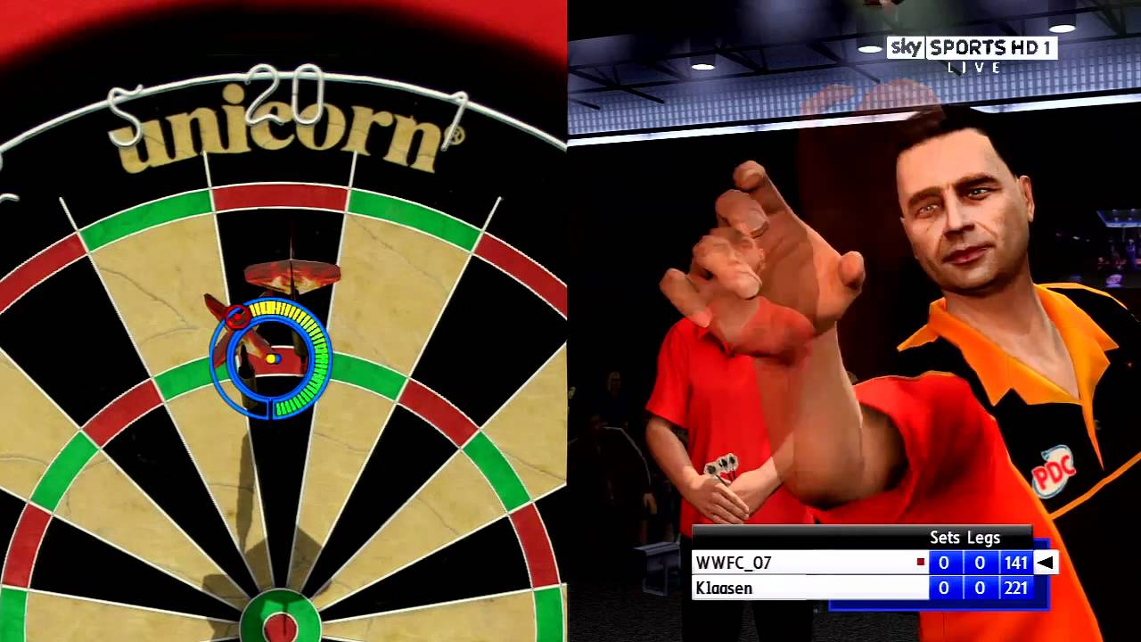 Ps3 Pdc World Championship Darts Pro Tour Gameplay Part 1 Hd