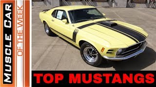 Top Mustangs - Muscle Car Of The Week Episode 283 V8TV