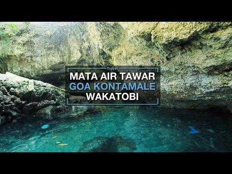 Goa Kontamale Wakatobi, Goa Mata Air Tawar yang Konon Bikin Enteng Jodoh
