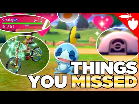 Pokemon Sword and Shield Trailer Analysis - Dynamax Stats, Rotom Bike, Camping & More!