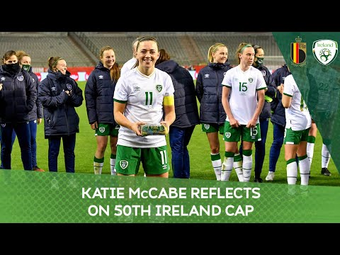 INTERVIEW | Katie McCabe reflects on her 50th Ireland cap