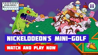 Nickelodeon's ULTIMATE Mini-Golf Universe [Rugrats, TMNT, etc] · Game · Gameplay