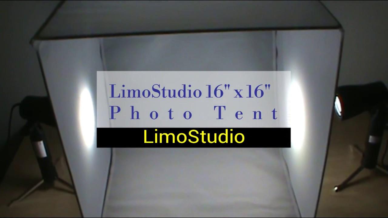 LimoStudio 16 X 16 Table Top Photo Photography Studio Lighting Light Tent