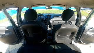 Panorama interno Peugeot 206SW