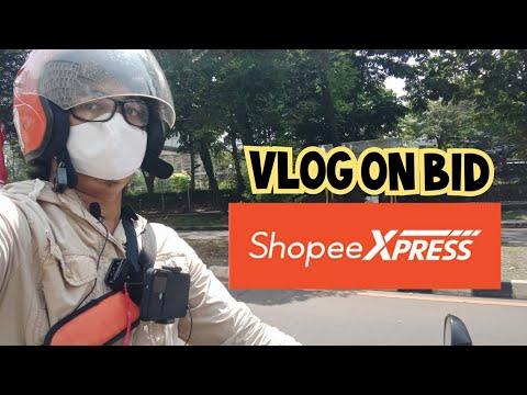 VLOG ON BID SHOPEE EXPRESS