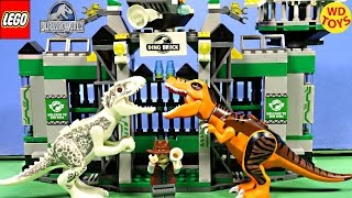 New Dino Bricks Tyrannosaurus Rex Escape Vs Indominus Rex  Lego Compatible Dinosaur Bricks Unboxing
