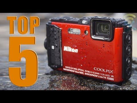 5 Best Waterproof Cameras You Can Buy Now in 2018