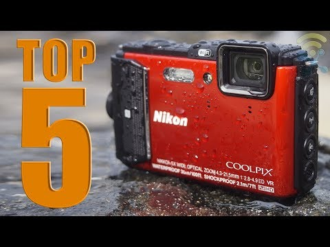 5 Best Waterproof Cameras You Can Buy Now in 2018
