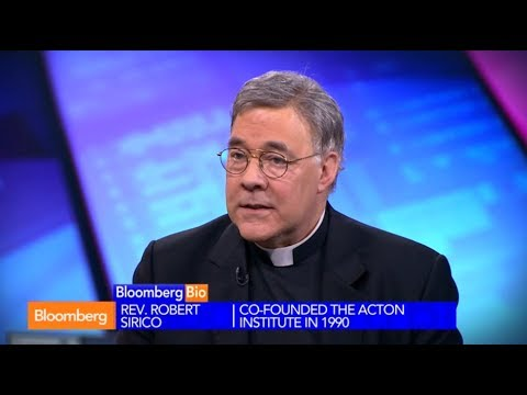 Rev. Robert A. Sirico on Bloomberg TV - 6.11.14